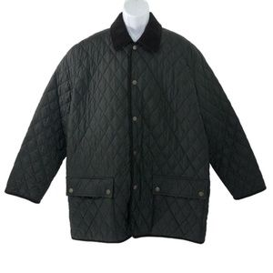 Brooks Brothers Jacket Coat Quilted Polyester XL